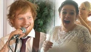 Ed Sheeran wpada zaśpiewać na weselu