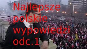 Najlepsze polskie wypowiedzi #1