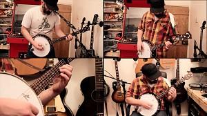 Enter Sandman Metalliki na banjo
