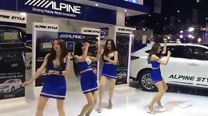 Hostessy z Motor Show w Bangkoku