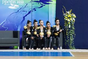 Juniorki z Azerbejdżanu pokazują co potrafią