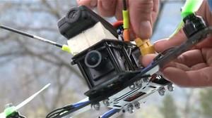 Pierwszy wyścig dronów w Polsce