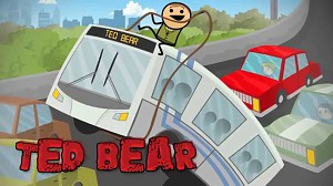 Cyanide & Happiness Shorts - Ted Bear 2