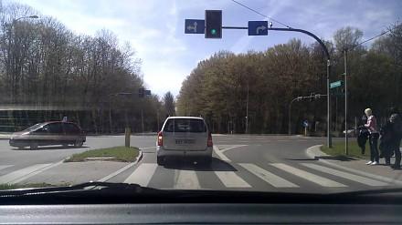 Białystok: Wypadek Zwierzyniecka/11 Listopada