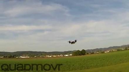 Dron z turbodoładowaniem