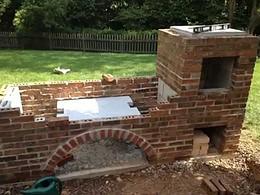 Projekt na budowę grilla wraz z wędzarką