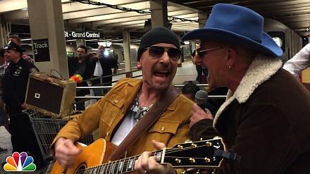 Nikt ich nie rozpoznał, a to U2 dawało koncert na stacji metra