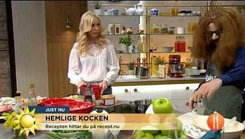 Food Emperor w szwedzkiej telewizji śniadaniowej
