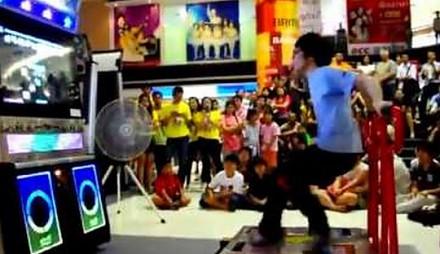 Taniec, poziom trudności - Azjata