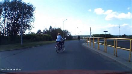 Idiotka na rowerze