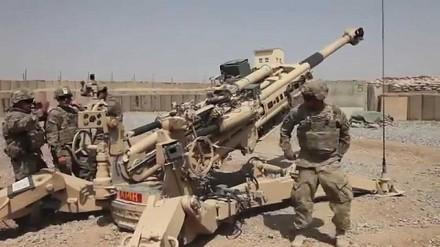 Tak wygląda obsługa najnowszej haubicy M777