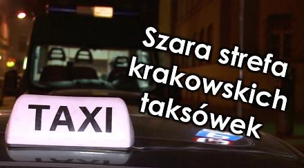 Szara strefa krakowskich taksówek - Na drogach