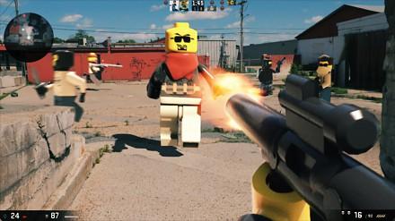 Portal, Skyrim, Bioshock i Counter-Strike jako gry Lego