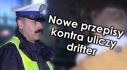 Uliczny drifter kontra nowe przepisy - Na drogach