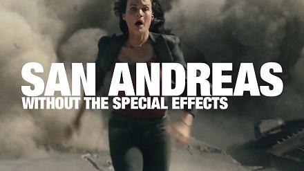 """Jak wygląda film """"San Andreas"""" pozbawiony efektów specjalnych?"""
