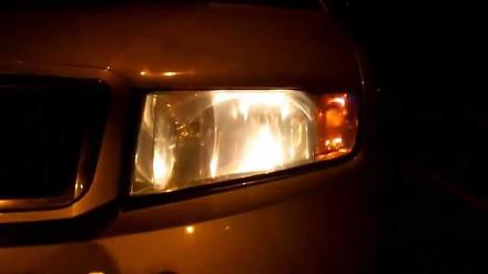 Próba wlepienia 200 zł mandatu za spalone lampki podświetlenia tablicy