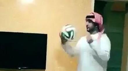 Muzułmanie w piłkę grają tak...