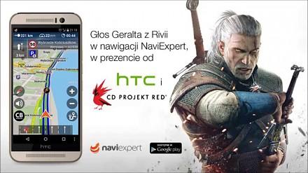 Głos Wiedźmina Geralta w Nawigacji NaviExpert!