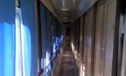 Duchy w pociągu
