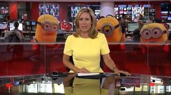 Niespodziewani goście w studiu BBC