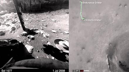 Wycieczka po Marsie z łazikiem Opportunity
