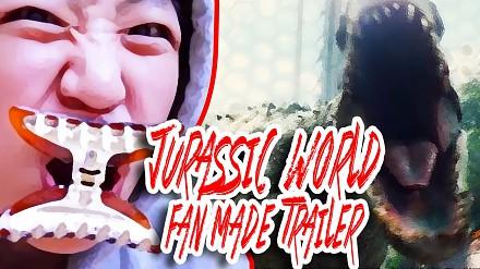 Koreańska dziewczyna odtworzyła zwiastun nowego filmu Jurassic World