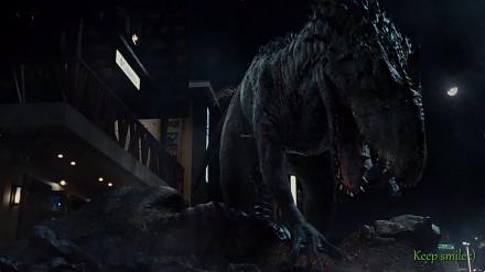 Tyranosaurus Rex vs Indominus Rex