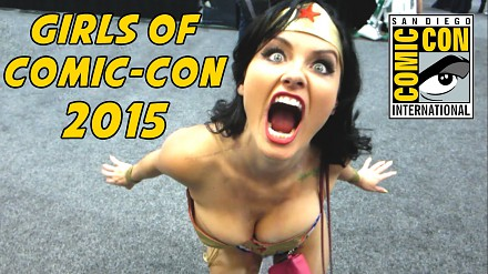 Dziewczyny z Comic-Con 2015