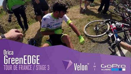 Wypadek na Tour de France okiem mechanika