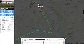 Samolot prawie zderzył się z dronem! Posłuchaj rozmowy pilota z kontrolerami