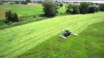 Polska firma SaMASZ ustanawia rekord Guinnessa w koszeniu trawy