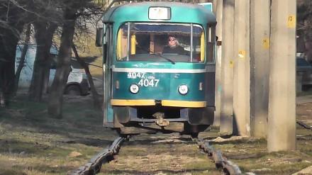 Jazda tramwajem w Odessie