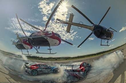 Baumgartner, Przygoński i Red Bull Heli Drifting