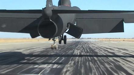 Lądowanie samolotu szpiegowskiego U-2