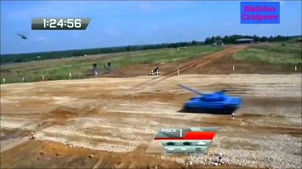 Biathlon czołgowy - nowy rosyjski sport