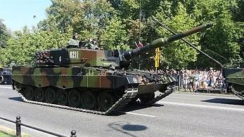 Defilada z okazji Święta Wojska Polskiego 2015