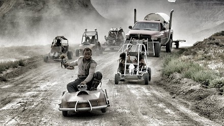 Mad Max GoKart Paintball