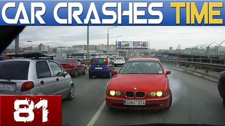 #81 Car Crash Compilation - Sierpień