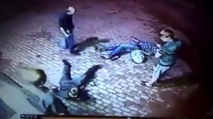 Chcieli napaść starszego mężczyznę, a trafili na byłego boksera