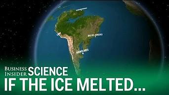 Jak wyglądałby świat po roztopieniu się lodowców?