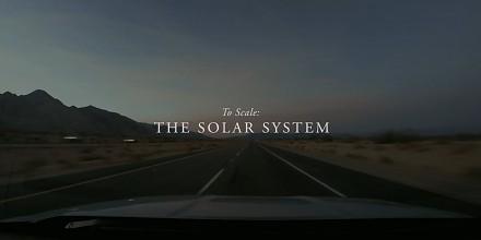 Gigantyczna makieta układu słonecznego