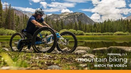 Jeremy McGhee. Niepełnosprawny rowerzysta, który jeździ po górach