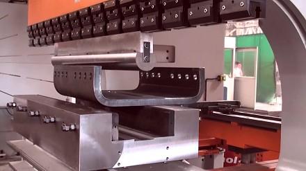 Porno dla inżynierów: gięcie blachy 45 mm