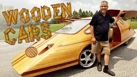 Funkcjonalne samochody z drewna