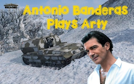 Antonio Banderas gra w World of Tanks