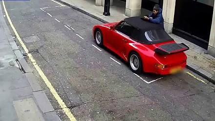 Chciał ukraść Porsche 911, ale nie przewidział jednego
