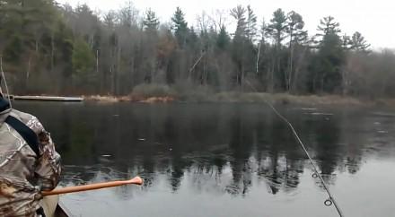 Wybrali się na ryby, ale nie chciały brać, bo zawiodła pogoda