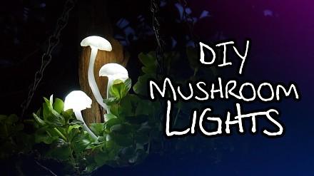 Magiczne, grzybkowe lampki