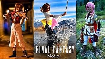 Lindsey Stirling w motywie i cosplayach z Final Fantasy