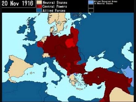 I Wojna Światowa - dzień po dniu
